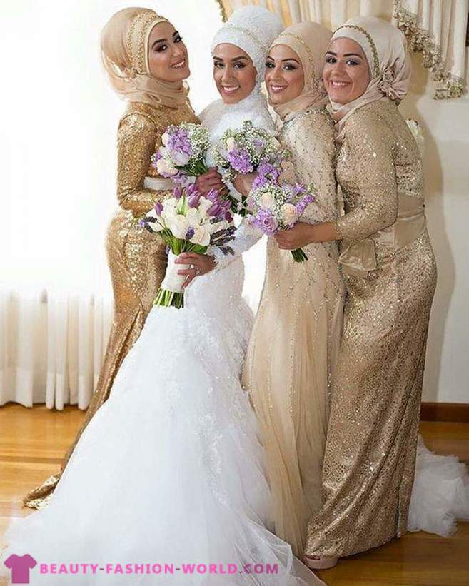 muslimské nevěsty